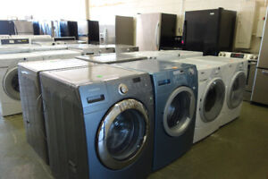 WASHERS DRYERS TOP/FRONT LOAD STACKABLE LIKE NEW with WARRANTY!!