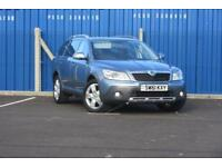 SKODA OCTAVIA SCOUT 2.0 TDI CR DSG DIESEL AUTOMATIC FINISHED IN GREY