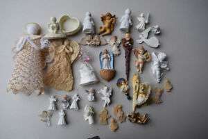 Angel collection LOT - Christmas Ornaments