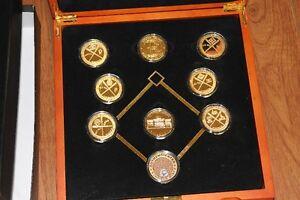 Boston Red Sox commemorative coin set