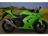 Kawasaki Ninja 250 2008 ** SEAT COWL, TANK PROTECTOR, WAVY DISCS **