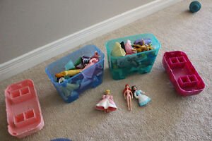 Disney Princess Dolls with clothing and accessories Peterborough Peterborough Area image 1