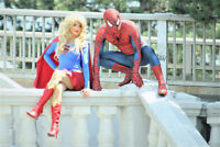 Super Hero's to the Rescue! Wonder woman Super Girl Spiderman