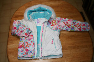 BELLE HEDGE ski jacket and pant set for girl size 6 London Ontario image 2