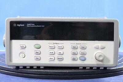 Agilent 34970a Data Acquisition System Dmm