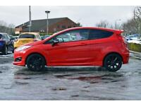 2015 FORD FIESTA Ford Fiesta 1.0 EcoBoost [140] Zetec S Red 3dr [Privacy Glass]