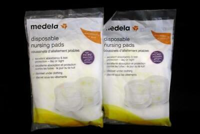 Lot of 2 Medela Disposable Nursing Pads 8 Total 2013 Sealed Package