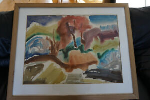 Edith Smith watercolor signed artwork