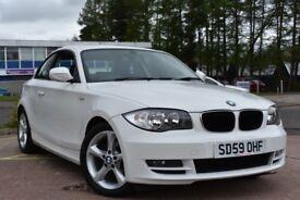 BMW 1 SERIES 118d Sport (white) 2009