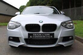 2013 13 BMW 1 SERIES 2.0 118D M SPORT 5D 141 BHP DIESEL