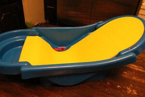Bathing Fold-Up Tub, 'BIG SOFTIES' Bath Cradle, Portable Potty