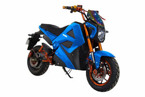 Daymak EM1 500W, 72V Blue, Electric Scooter E BIKE  motorcycle