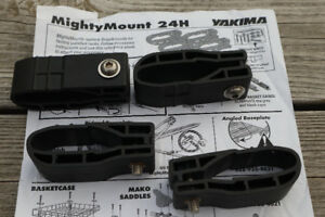 Yakima car roof rack Mighty Mounts for factory roof rack. NEW