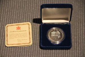 Pièce de $50 commémorative Eaton 125 en argent