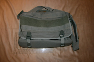 NEW Green Military Style Computer Case / Messenger Bag / Tote