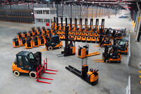 On-Site Forklift Training & Certification!