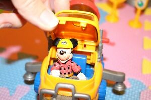 Mickey Mouse construction site