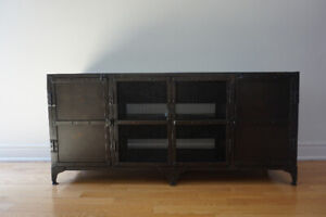 Restoration Hardware INDUSTRIAL STYLE MEDIA CONSOLE OR SIDEBOARD
