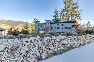 STUNNING BUILDING LOT IN KELOWNA'S HIGHEST SUBDIVISION!
