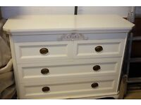 Laura Ashley Lille chest of drawers