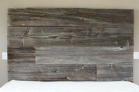 Rustic/Reclaimed King Sized Barn Wood Bed frame and headboard