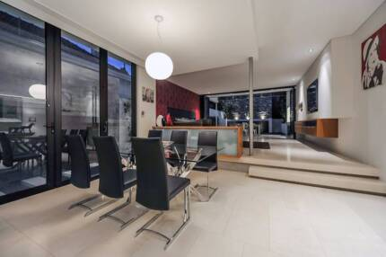 ** MAKE AN OFFER - MODERN Dining Table & 6 chairs ** West Leederville Cambridge Area Preview