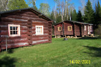 FOR SALE MATTAGAMI LAKE WATERFRONT LOG CAMPS