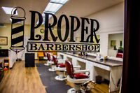 Barber Wanted Proper barbershop KW