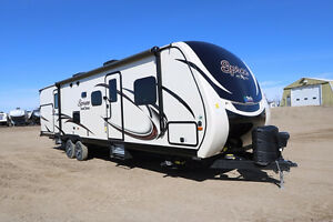 PRICED TO SELL!  BRAND NEW TWO SLIDE BUNK MODEL TRAVEL TRAILER
