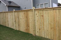 Laminate 1$aqft.fence 4$ ft, only installation.