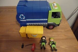 PLAYMOBIL - CAMION RECYCLAGE 6110