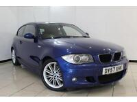 2008 57 BMW 1 SERIES 2.0 120D M SPORT 3D 175 BHP DIESEL