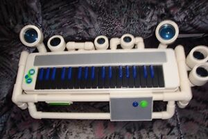 KIDS FANCY PIANO WITH RECORDER AND MP3 PLAYER 3 IN 1