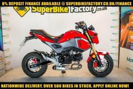 2017 17 HONDA MSX 125 10 BHP 125CC 0% DEPOSIT FINANCE AVAILABLE