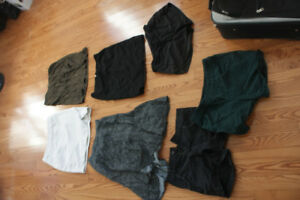 Shorts, skirts, pants | sizes XS-M | see description for prices