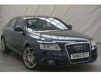 2010 60 AUDI A6 2.0 TDI S LINE SPECIAL EDITION 4D 168 BHP DIESEL, SERVICE HISTOR