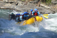 Whitewater Rafting Guide for Chinook Rafting (May - Sept 2016)