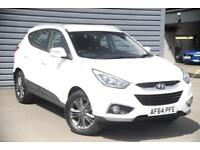2014 Hyundai ix35 1.7 CRDi SE Diesel white Manual