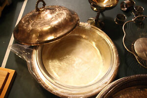 Brass, silver plated collection sold as a lot for $85 Hamilton Ontario image 4