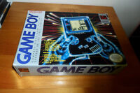 BOXED ORIGINAL GAMEBOY SYSTEM – COMPLETE, instructions,plastic