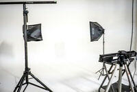 Photography Studio Space for Rent with Cyclorama Wall!