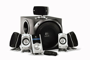 Logitech Z-5500 Speakers Home Theater system
