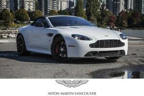 2014 Aston Martin V8 Vantage S Roadster Sportshift II *Certified!
