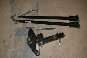 Trailer hitch, camping gear, and other accessories