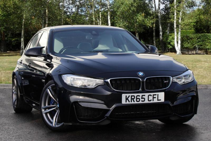 2015 Bmw M3 M3 Saloon Petrol Black Automatic In Milton Keynes