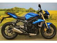 Triumph Street Triple 2013 ** SHIFT LIGHT, DATATAG, DIGITAL DISPLAY **