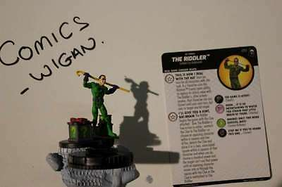 "DC HeroClix ""Joker's Wild""#51 The Riddler - Super Rare"