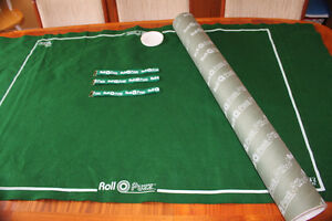 Roll-O-Puzz Original Puzzle Rollup Tube Kitchener / Waterloo Kitchener Area image 1