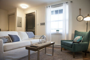 Furnished designer apartment to rent, available now