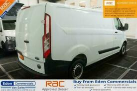 2013 63 FORD TRANSIT CUSTOM 2.2 290 * NATIONWIDE DELIVERY * WHITE PANEL VAN